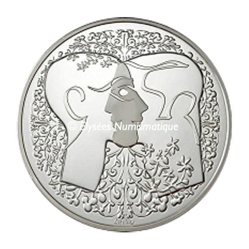 Médaille argent - Médaille du PACS (Petit module) - avers