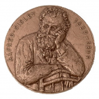 Médaille bronze - Alfred SISLEY Avers