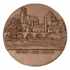 Médaille bronze - Alfred SISLEY Revers