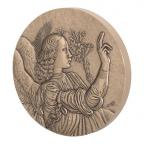 Médaille bronze - Ange de l'annonciation Avers