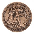 Médaille bronze - Antoine de Saint-Exupéry, par Belmondo Revers