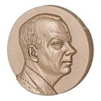 Médaille bronze - Antoine de Saint-Exupéry, par Letourneur Avers