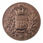 Médaille bronze - Armes de Paris Avers