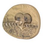 Médaille bronze - Au coeur de Paris Revers