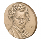 Médaille bronze - Beethoven Avers