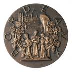 Médaille bronze - Bordeaux ville d'art Avers
