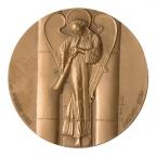 Médaille bronze - Cathédrale de Strasbourg Revers