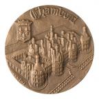 Médaille bronze - Château de Chambord Avers