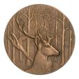 Médaille bronze - Château de Rambouillet Revers