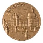 Médaille bronze - Château de Valençay Avers