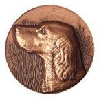 Médaille bronze - Chien Setter Avers