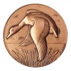 Médaille bronze - Chien Setter Revers