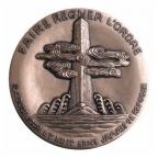 Médaille bronze - Confucius Revers