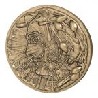 Médaille bronze - Dali, par Dali Avers