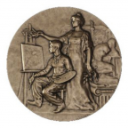 Médaille bronze - Dessin Avers