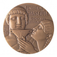 Médaille bronze - Fondation de Marseille Avers