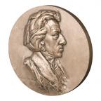Médaille bronze - Frédéric Chopin Avers