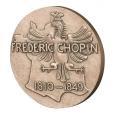Médaille bronze - Frédéric Chopin Revers