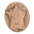Médaille bronze - France à la semeuse Avers