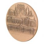 Médaille bronze - France à la semeuse Revers