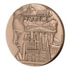 Médaille bronze - France touristique, par Turin Avers
