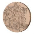 Médaille bronze - France touristique, par Turin Revers