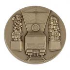 Médaille bronze - Gare Saint-Lazare Avers