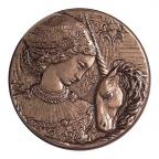 Médaille bronze - Gustave MOREAU Revers