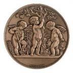 Médaille bronze - Horticulture, par Alphée Dubois Avers
