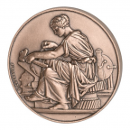 Médaille bronze - Industrie Avers