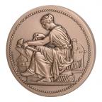 Médaille bronze - Industrie (grènetis à l'avers) Avers