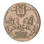 Médaille bronze - La Cité de Carcassonne Revers