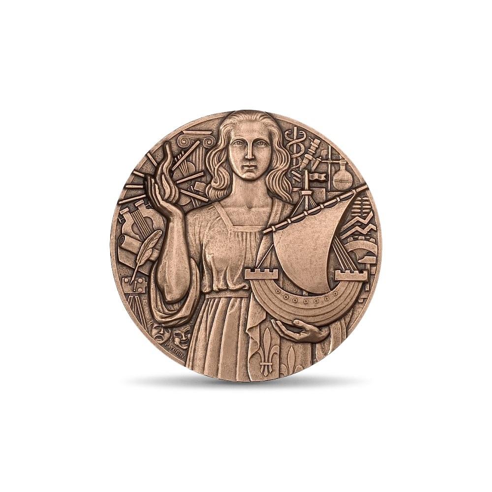 (FMED.Méd.MdP.CuSn.100100000600P0) Bronze medal - Paris, by Pierre Turin Obverse (zoom)