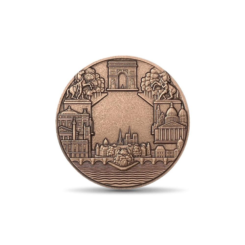 (FMED.Méd.MdP.CuSn.100100000600P0) Bronze medal - Paris, by Pierre Turin Reverse (zoom)