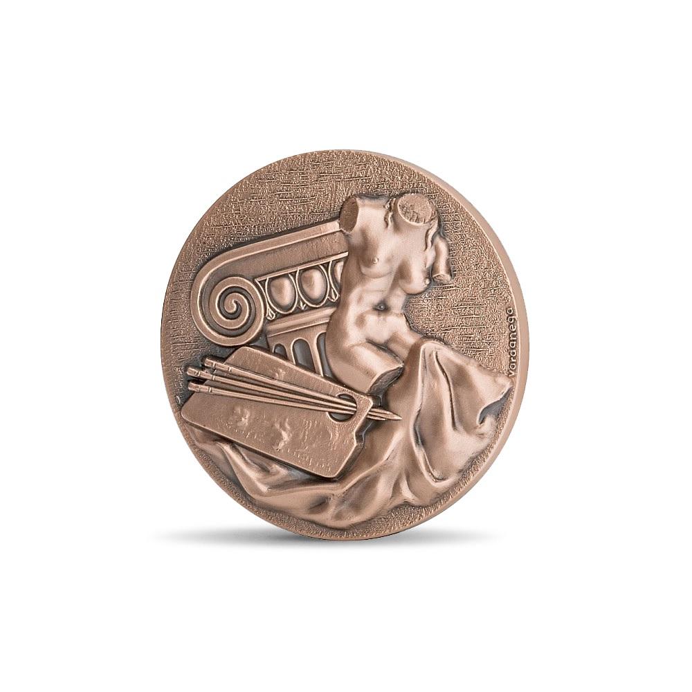 (FMED.Méd.MdP.CuSn.100110558100P0) Bronze medal - Arts, by Gregorio Vardanega Obverse (zoom)