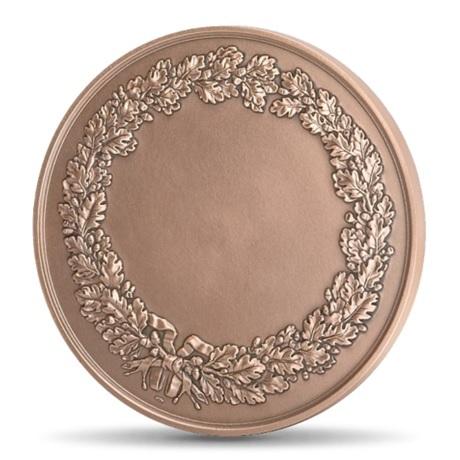 (FMED.Méd.MdP.CuSn.100110558100P0) Médaille bronze - Les arts, par Gregorio Vardanega Revers