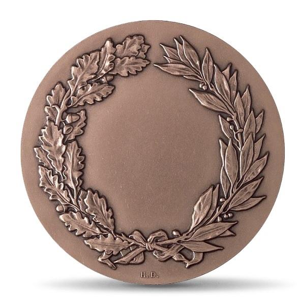 (FMED.Méd.MdP.CuSn.100110712400P0) Bronze medal - Justice, by Gregorio Vardanega Reverse (zoom)