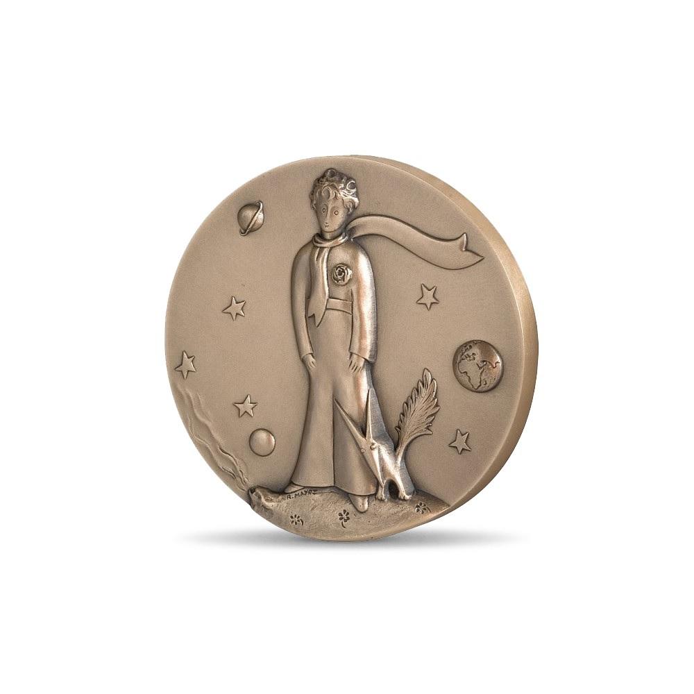 (FMED.Méd.MdP.CuSn.100111163200P0) Bronze medal - The Little Prince Obverse (zoom)