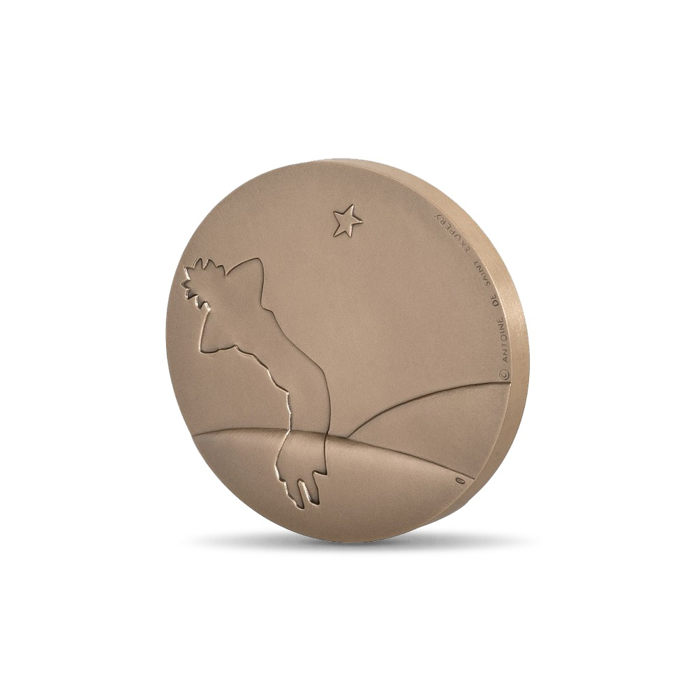 (FMED.Méd.MdP.CuSn.100111163200P0) Bronze medal - The Little Prince Reverse (zoom)