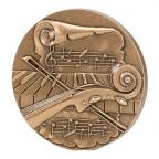 Médaille bronze - La musique Avers