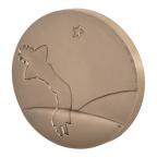 Médaille bronze - Le Petit Prince Revers