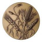 Médaille bronze - Les épis Avers