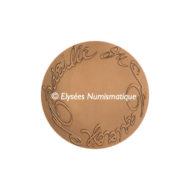 Médaille bronze - Médaille du mariage (Grand module) - revers