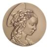 Médaille bronze - Madone de Filippo Lippi Avers