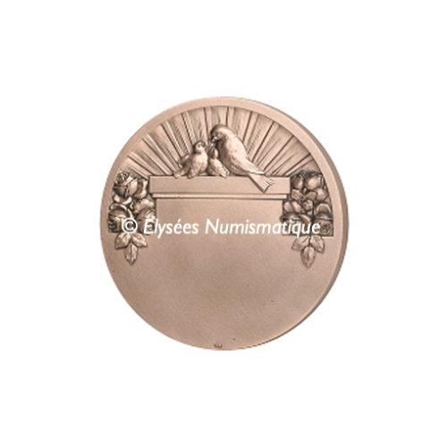 Médaille bronze - Maternité - revers