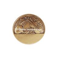 Médaille bronze - Musique, par Crouzat - revers