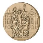 Médaille bronze - Opéra de Paris, par Lindauer Avers