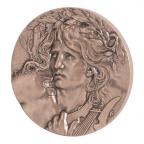 Médaille bronze - Orphée Avers