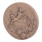 Médaille bronze - Orphée Revers