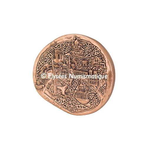 Médaille bronze - Paris, par Jean-Philippe Roch - avers